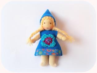 Häkelblume, Crochet, gehäkelte Kleidung
