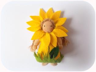 Püppchen Sonnenblume