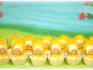 Cupcakes aus Filz
