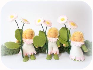 Gänseblümchen Frühling Waldorf Art