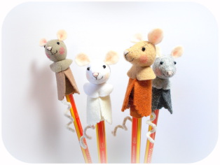 Füllung Schultüte, Mäuse