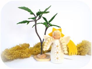 Engel für die Krippe aus Filz