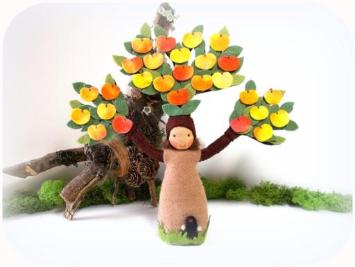 Blumenkinder Apfelbaum