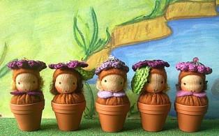 Häkelblume, crochet