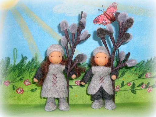 Weidekätzchen Blumenkinder