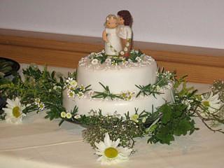 Brautpaar für die Torte