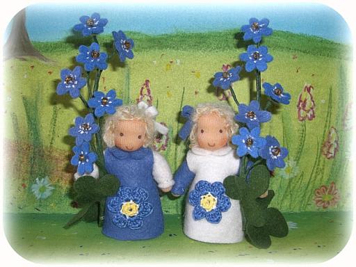Leberblümchen für den Jahreszeitentisch