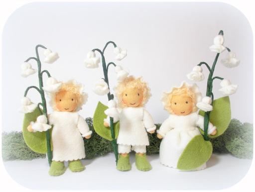 Blumenkind Maiglöckchen Frühling