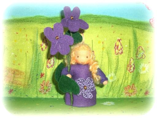 Veilchen Blumenkind