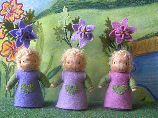 Blumenkinder Akelei