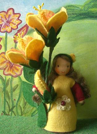 Blumenkind Hibiskus