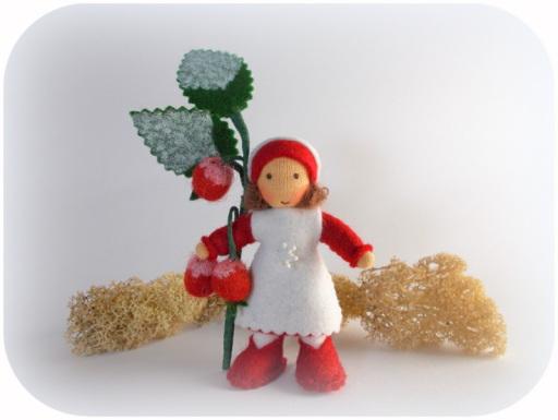Blumenkinder für den Winter, Hagebutte