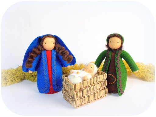 Maria und Josef, Jahreszeitentisch