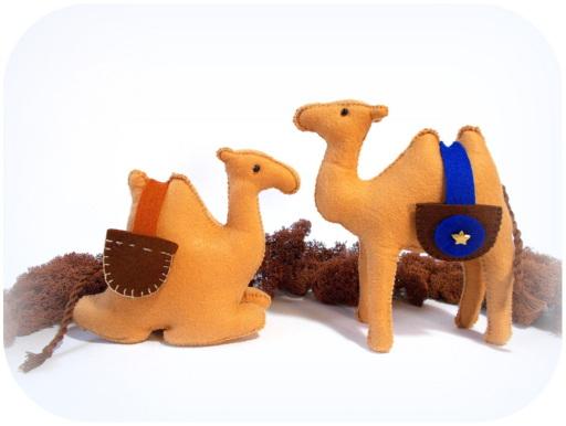 Kamel für heilige drei Könige