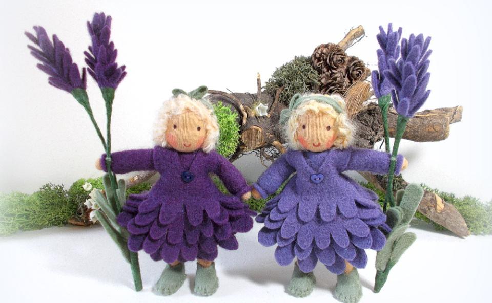 Lavendel für den Jahreszeitentisch